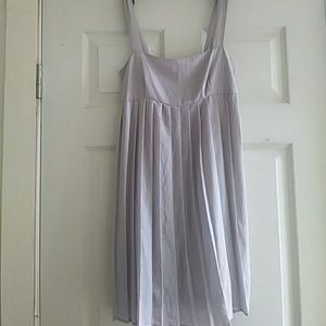 Women's grey dress
